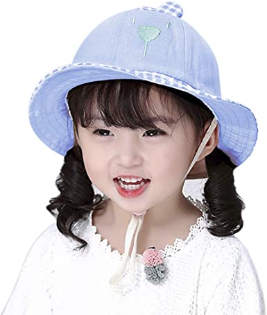 Cartoon Mignon Bébé Garçon Enfants Chapeau de soleil coton enfants chapeau été plage Cap