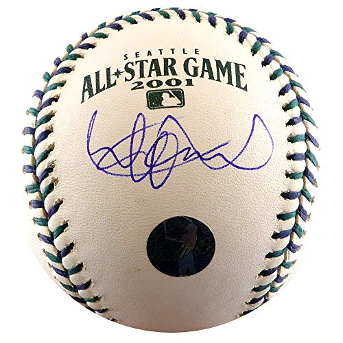 - ICHIRO SUZUKI AUTOGRAPHED OFFICIAL 2001 ALL STAR BASEBALL SEATTLE MARINERS IS HOLO STOCK #125274