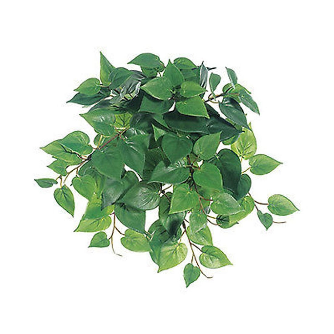 Philodendron Bush Mini greeneryシルクウェディング花センターピース装飾 B0744HCDSZ