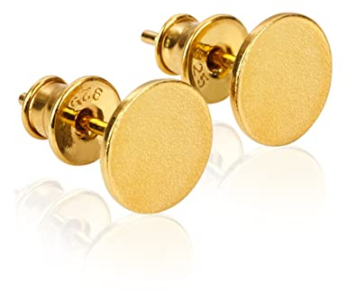 0744c786a Modabilé women's studs, round, polished, 8 mm including Case, silver ...