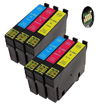 Teng® - Cartuchos de Tinta para Epson XP-235, XP-245, XP-255, XP ...