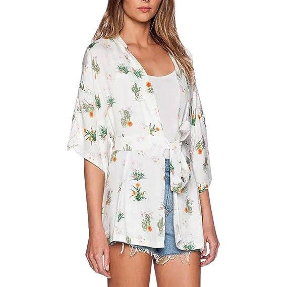 Camisetas Mujer Manga Corta Moda AIMEE7 Blusas Mujer Playa Verano Blusas Gasa De Mujer Blusas Tunicas