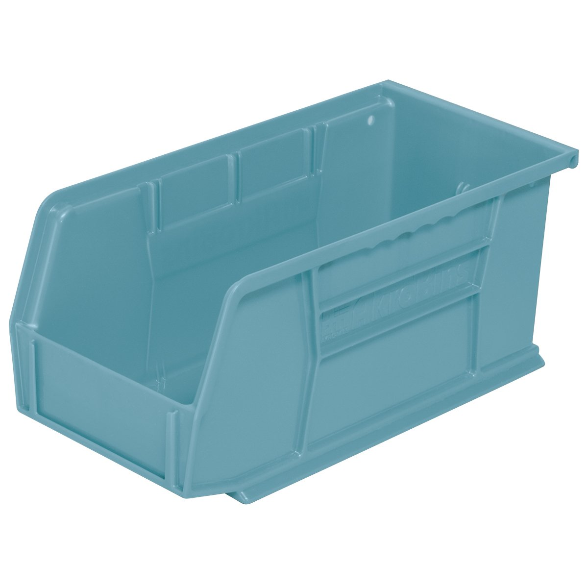 12-Pack Akro-Mils 30230 Plastic Storage Stacking Hanging Akro Bin 11-Inch by 5-Inch by 5-Inch Green