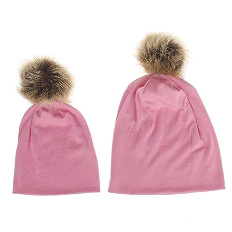Fashion suave algodón entre padres e hijos Hip Hop gorro de invierno gorro y # xFF08
