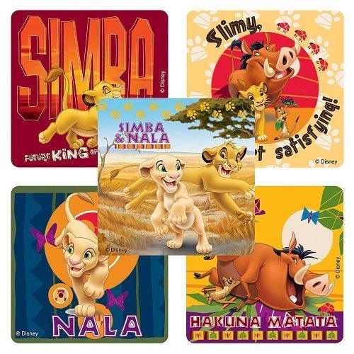 Disney Lion King: Hakuna Matata Stickers - Party Favors -