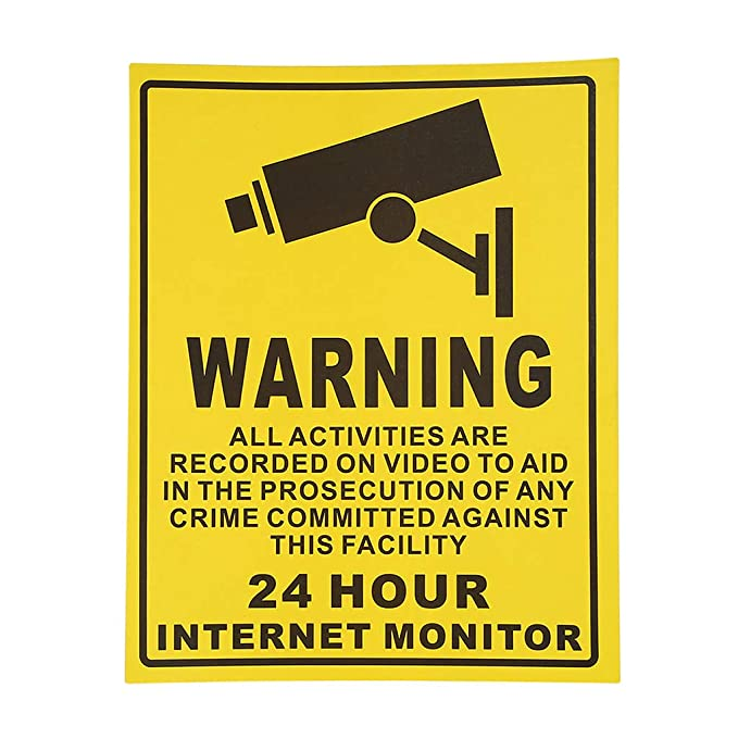non-brand 10x 24 Horas Monitor CCTV Video Alert Alarma ...