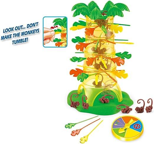 viewhuge Creative Dump Mono Falling juguete Tumbling monos fiesta & Familia Juego de mesa interactivo entre padres e hijos juguetes educativos Niños Regalos: Amazon.es: Hogar