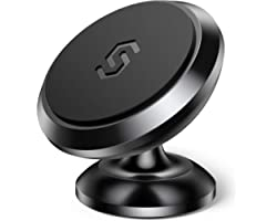 Magnetic Phone Car Mount, Syncwire Car Phone Holder for Dashboard, Cell Phone Car Kits, 360° Adjustable Magnet Cell Phone Mou