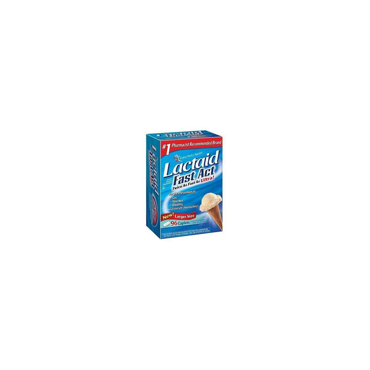 Lactaid Fast Act - 90 ct. by Lactaid