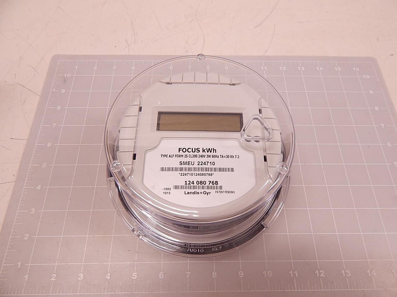 Landis Gyr Focus Kwh Electric Meter For 240 Volt Service Type Alf 2wire Or 230 Foreign Ekmomnimeter Wiring Diagram 2s