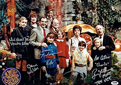 Willy Wonka Cast Signed 16x20 Photo Certified Authentic PSA/DNA -