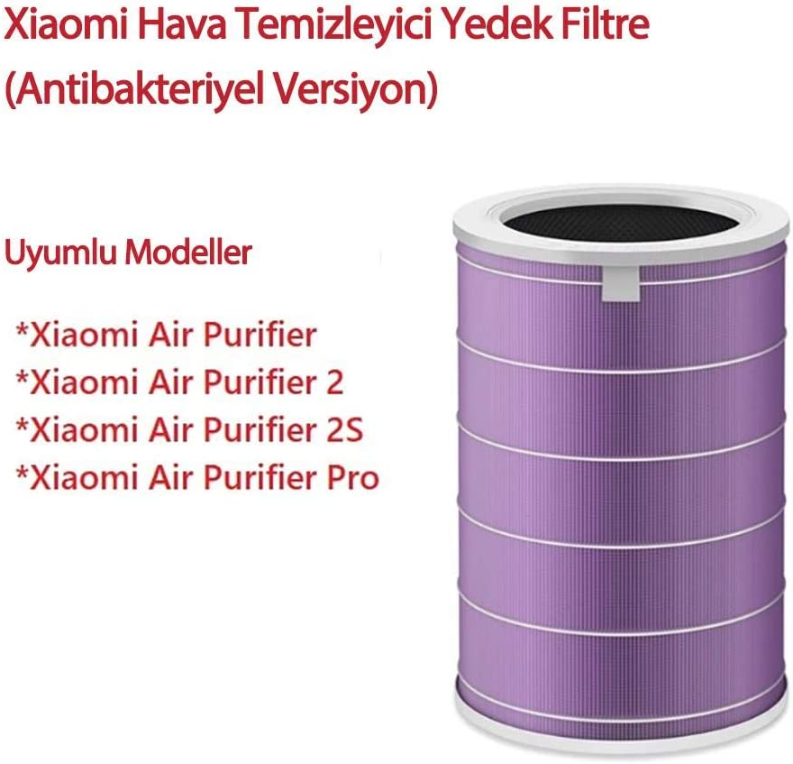 Xiaomi Mi Air - Filtro purificador Antibacteriano, Color Morado ...