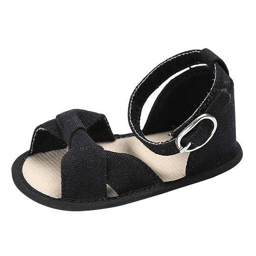 e53d9edc0c990 Amazon.com: FORESTIME_baby shoes Cute Newborn Baby Girls Open Toe ...