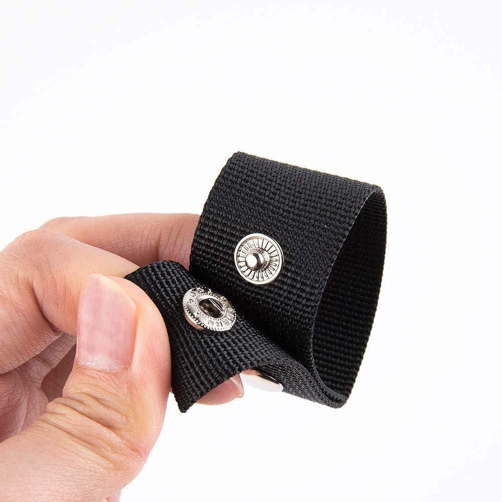 WXJ13 Belt Keeper Duty Belt Keeper Double Snaps Belt Keeper for Security Tactical Belt Outdoor Sports Belt Fixing