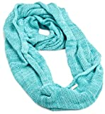 Coal Women's The Paige Scarf, Turquoise, One Size