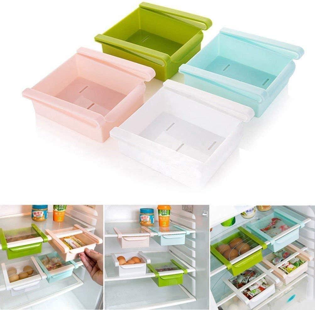 Samtlan Organizadores de cajones Plástico Cocina Refrigerador ...