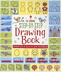 step by step drawing book activity books for little children fiona watt 9780794529536 amazoncom books
