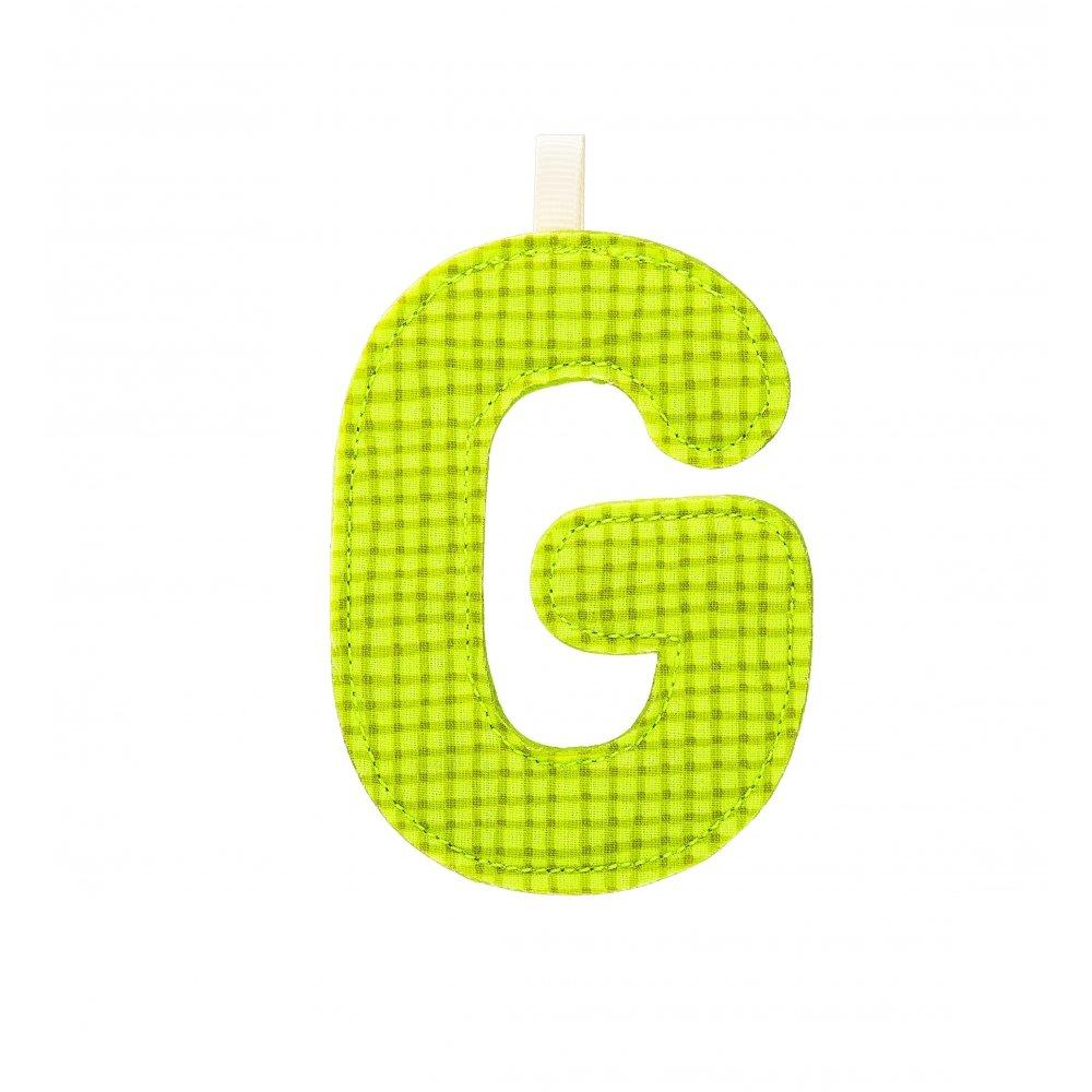 Lettre de l'alphabet décorative G - Lilliputiens