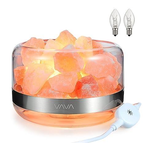 Amazon.com: Lámpara de sal del Himalaya, VAVA Natural ...