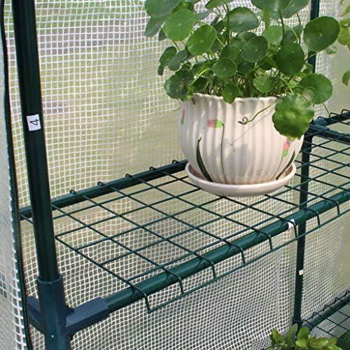 Invernaderos Plastico huerto terraza Mini Portátil para Invierno, Plantas Al Aire Libre De Interior Casa De Tomate con Dosel De Tomate Jardín con Casas Green House (Tamaño : 70×140×195CM): Amazon.es: Hogar