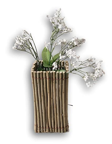 Amazon.com: Rustic Earthy Decorative Twig Flower Vase - 8.75 Inches on floral containers for vases, branches for vases, plastic liners for vases, gel beads for vases, water beads for vases, ribbon for vases, ornaments for vases, brown glass vases, floor vases, pearl beads for vases, lights for vases, decorative vases in rooms, accessories for vases, water pearls for vases, colored marbles for vases, mirrors for vases, glass rocks for vases, creative ideas for vases, flower for vases, driftwood for vases,