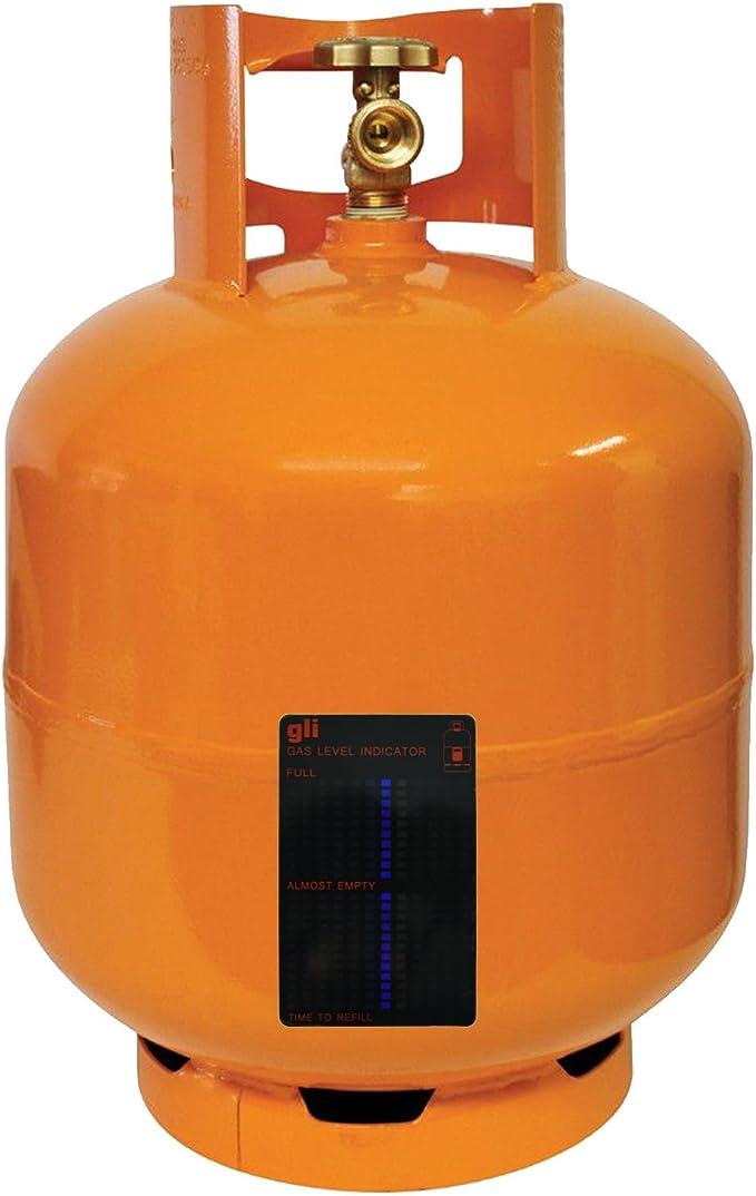 Indicador de Nivel de Botella de Gas butano magnético de propano para caravanas y Viajes, Camping, fiable y Reutilizable