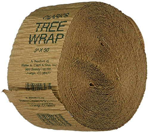 Clarks Tree Wrap (Walter E Clark 3-Inch by 50-Foot Tree Wrap 00303)