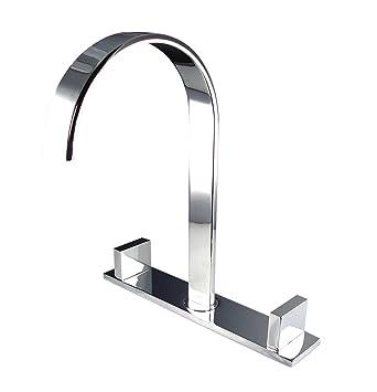 Fresca Bath FFT3801CH Sesia Widespread Mount Bathroom Vanity Faucet ...