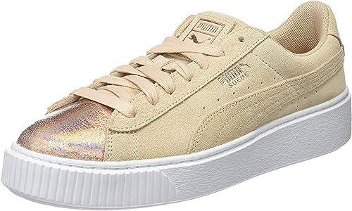 Suede Platform Lunalux Wn S Sneakers