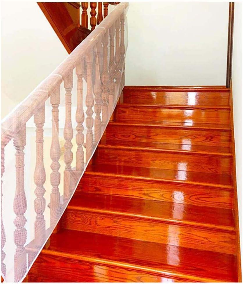 Balcón Escaleras Red de seguridad, Protector de escalera de protección para bebés, Seguridad infantil; Seguridad de mascotas; Seguridad de juguetes; Protector de escaleras,6.6 * 2.4ft: Amazon.es: Bebé