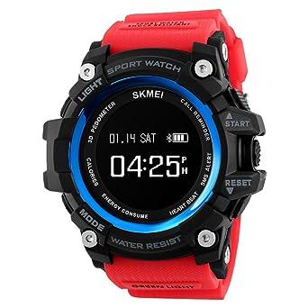 Smartwatch,Mouvement Fonctionnement Chronographe Imperméable] Multifonction Montres-C