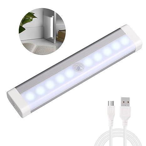 0,6 W batería Smart armario luces lámparas sensor de movimiento para armarios, de