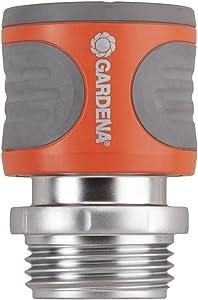 Gardena 39017 Premium Metal Female Garden Hose Connector