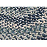 Boston Common Polypropylene Braided Rug, 3-Feet by