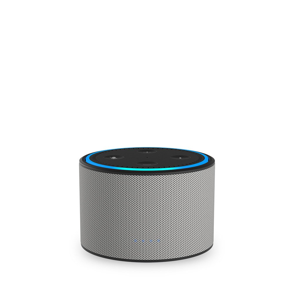 Ninety7 DOX Portable Battery Base for Amazon Echo Dot Ash/Gray