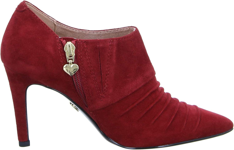 Tamaris, Bottes pour Femme Rouge