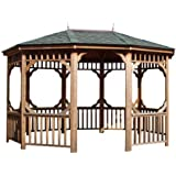 Amazon Com Bayside Gazebo Size 12 Wood Gazebo Kit