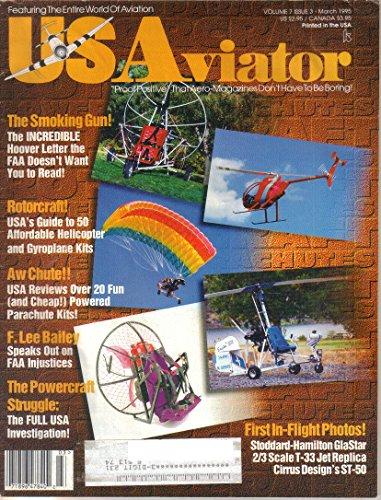US Aviator Magazine, March 1995 (Vol 7, No 3) (Magazine Aviators)