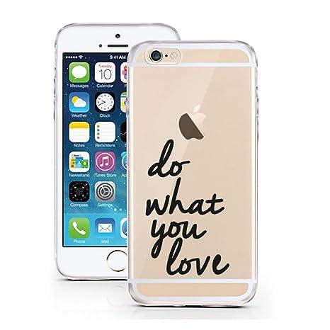 iPhone 7 Carcasa de licaso® para el patrón de Apple iPhone 7 TPU Silicona Ultra Fina protege tu iPhone 7 es elegante funda Bumper en un, Do What you ...