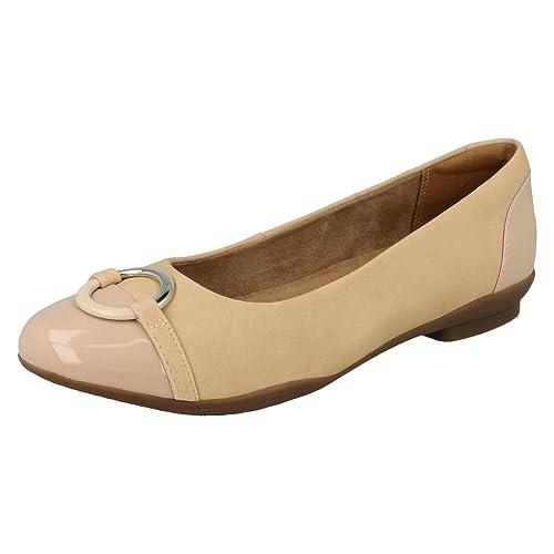 Clarks Vine Damen Neenah Vine Clarks Geschlossene Ballerinas  Amazon   Schuhe ... cb96fc
