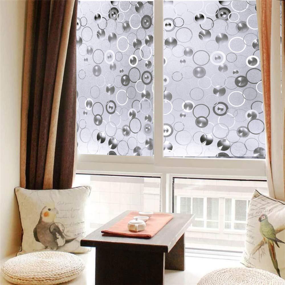 窓フィルムプライバシーフィルム静的装飾フィルム浴室用非粘着性熱制御ホームオフィスキッチンリビングルームフロントドア (Size : 0.92*20m) B07KM3FX85  0.92*20m