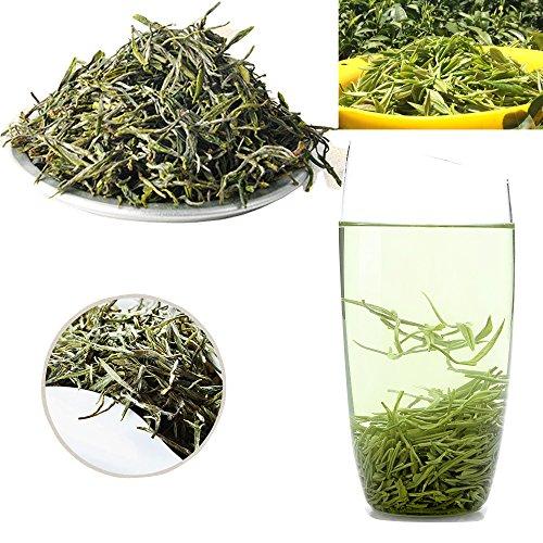 Merkuyom & (LiuWan Tea Farm Plantation) Premium Healthy Natural Organic A-Class LuShan Cloud-Fog Mist Yun Wu Tea Chinese Famous Spring Green Tea (100g)