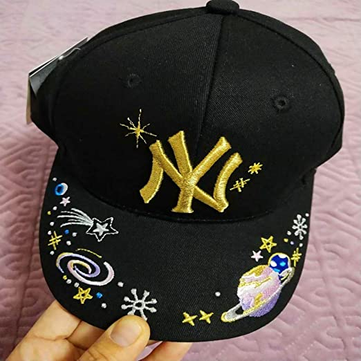 xiaochicun Starry MLB Tail Single NY Gorra de béisbol LA Pato al ...