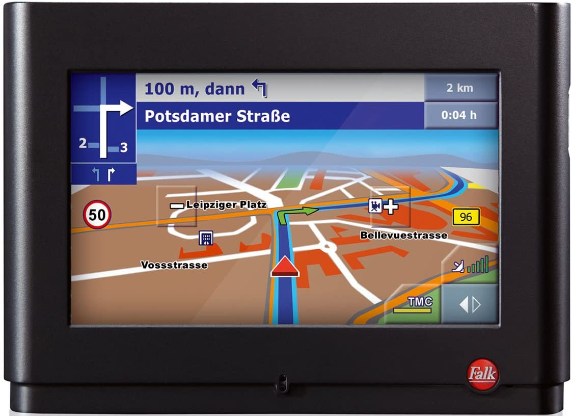 MULTISET für Falk FalkStyle Navigationssystem