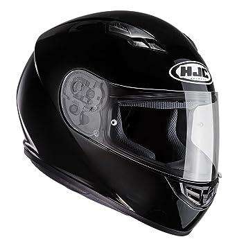 Casco Moto Hjc Cs-15 Plain Negro (L , Negro)