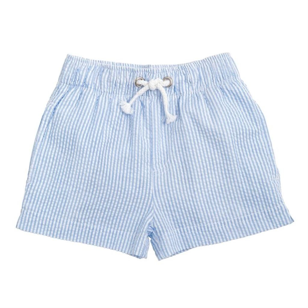 Mud Pie Baby Boys Seersucker Swim Trunks