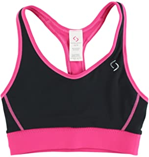 Moving Comfort Womens Switch It up Racer Bra Black/Pink