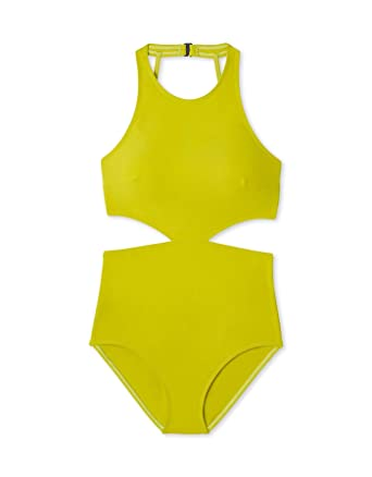 178b09acf0c Image Unavailable. Image not available for. Color: Flagpole Lynn One-Piece  Lime Swimsuit