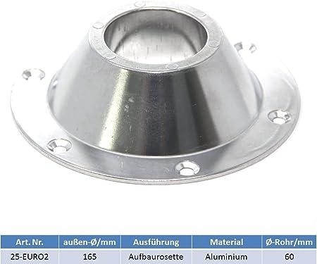 Bootsshop In Bad Ischl Tischfuß Aufbaurosette Aus Aluminium Incl Knotentafel Sport Freizeit