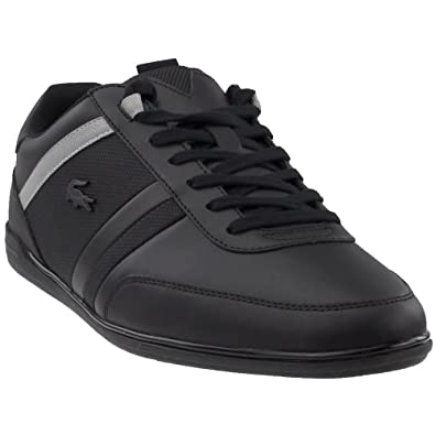 7e16d6f7cedad Lacoste Men s Giron 118 1 U Black Grey 7 M ...